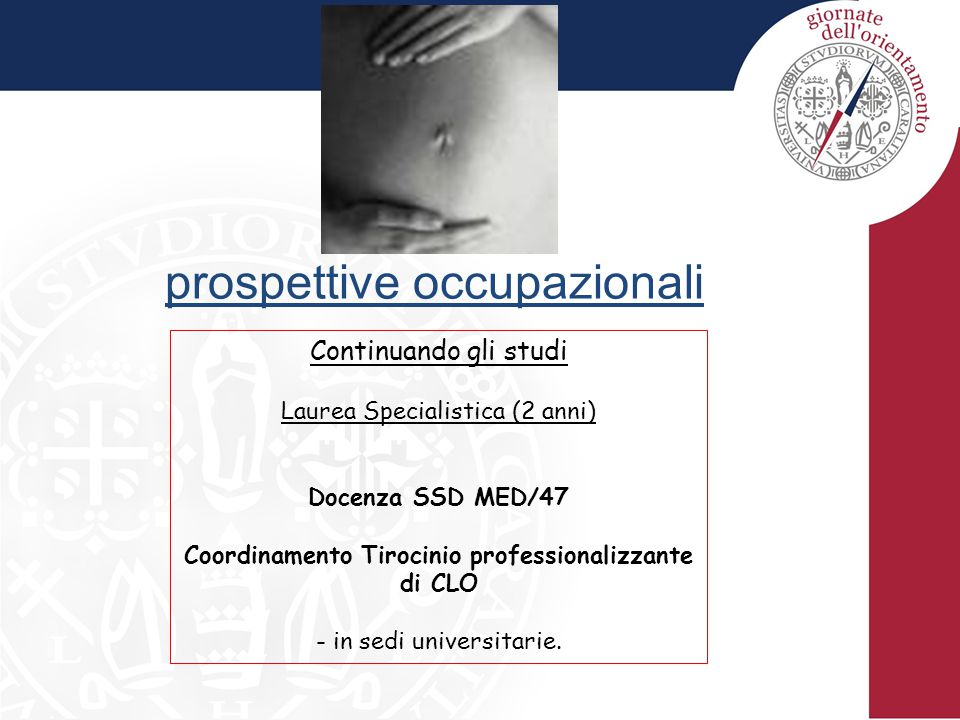 Coordinamento Tirocinio professionalizzante di CLO