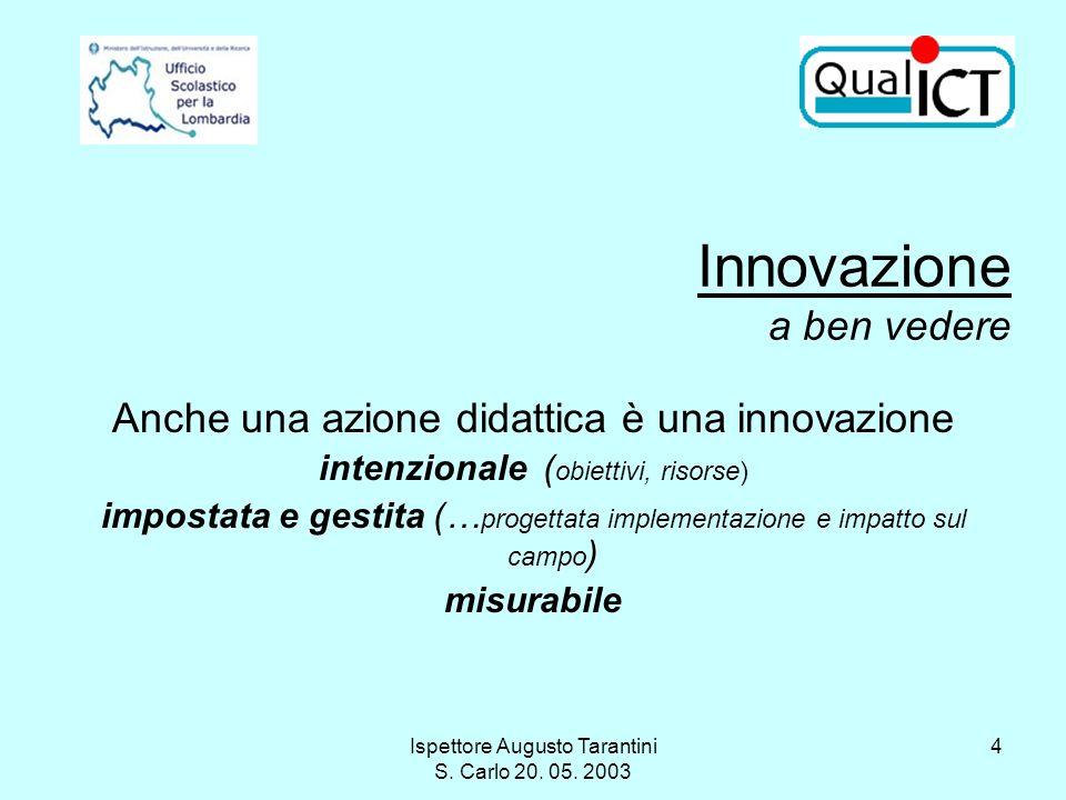 Innovazione a ben vedere