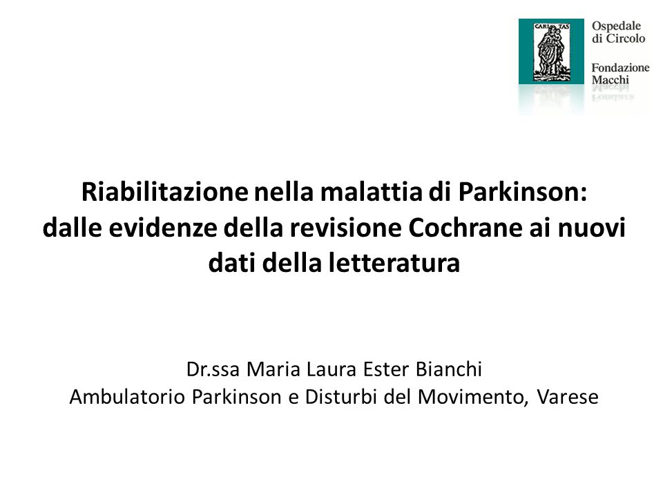 Ambulatorio Parkinson e Disturbi del Movimento, Varese