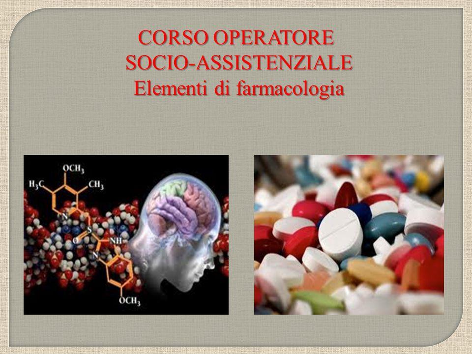 Elementi di farmacologia