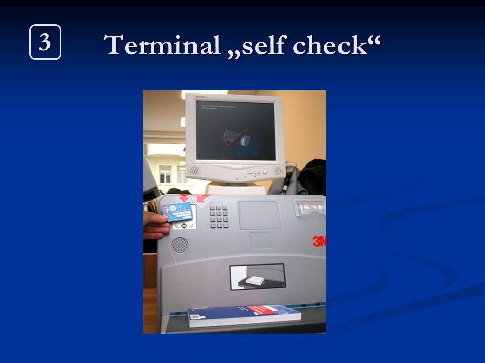 "Terminal ""self check 3"