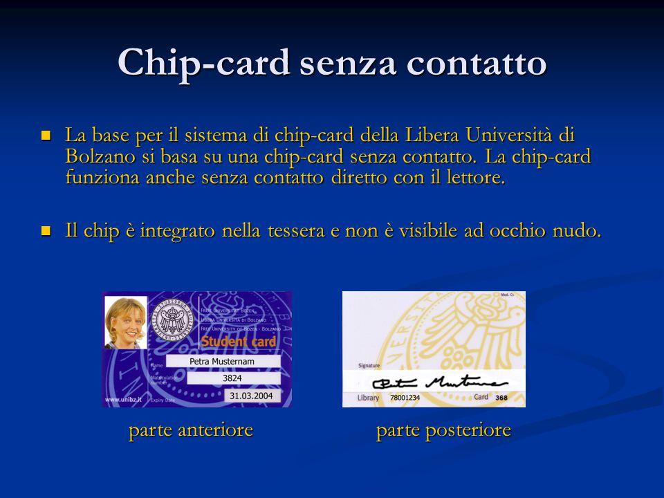Chip-card senza contatto