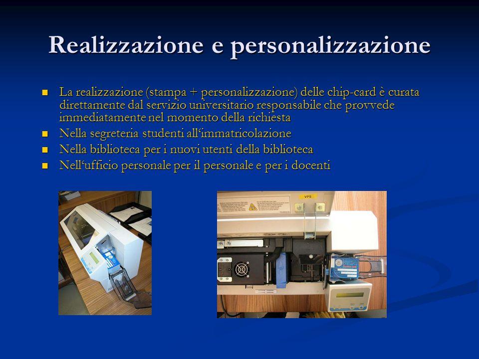 Realizzazione e personalizzazione