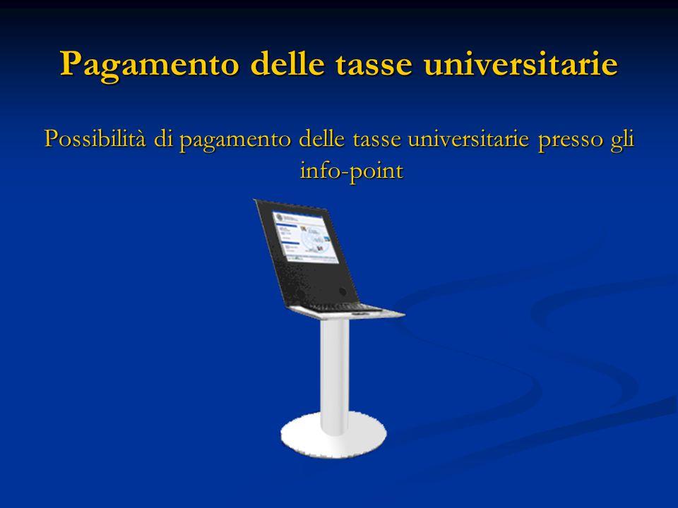 Pagamento delle tasse universitarie