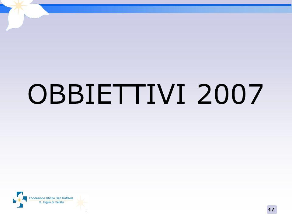 OBBIETTIVI 2007