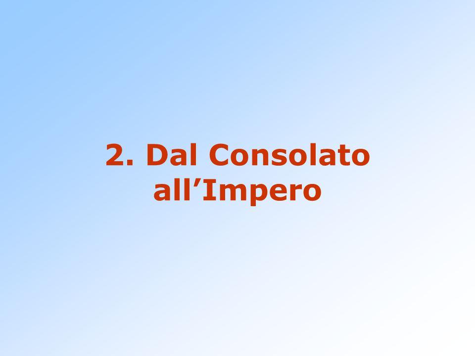 2. Dal Consolato all'Impero