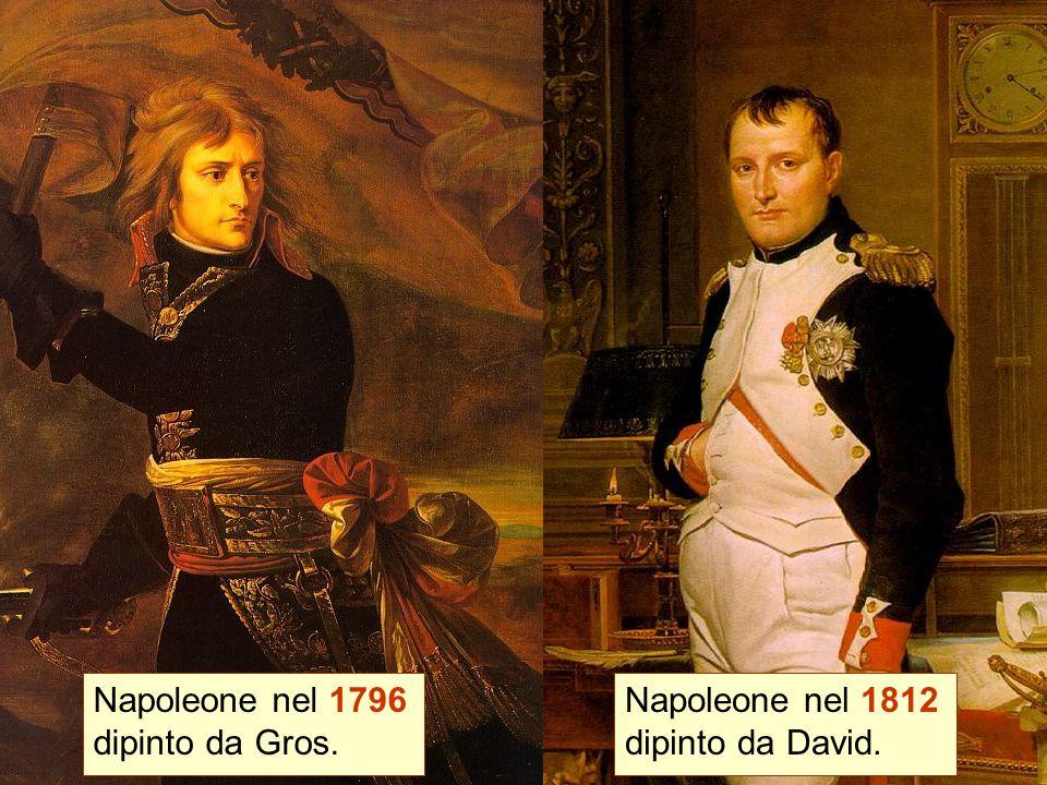 Napoleone nel 1796 dipinto da Gros.