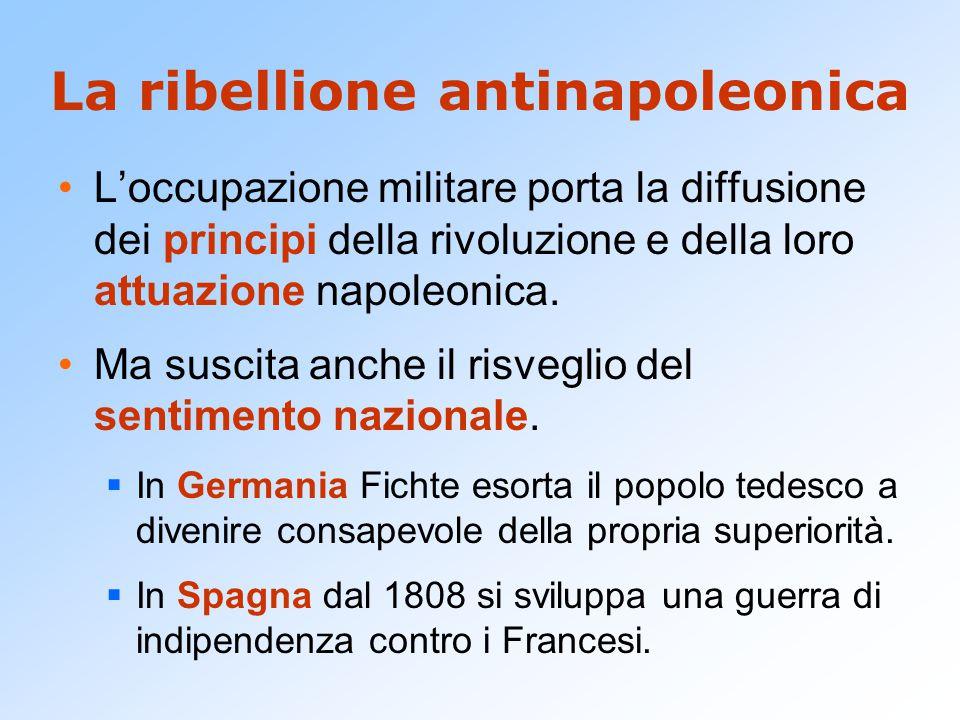 La ribellione antinapoleonica