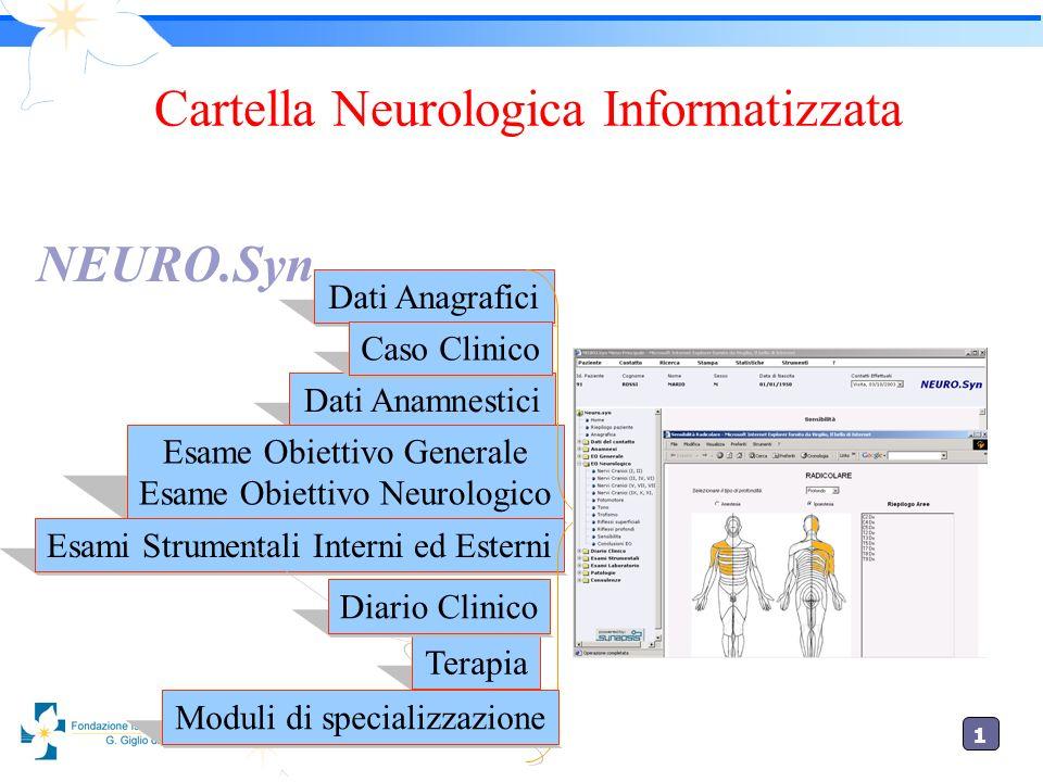 Cartella Neurologica Informatizzata