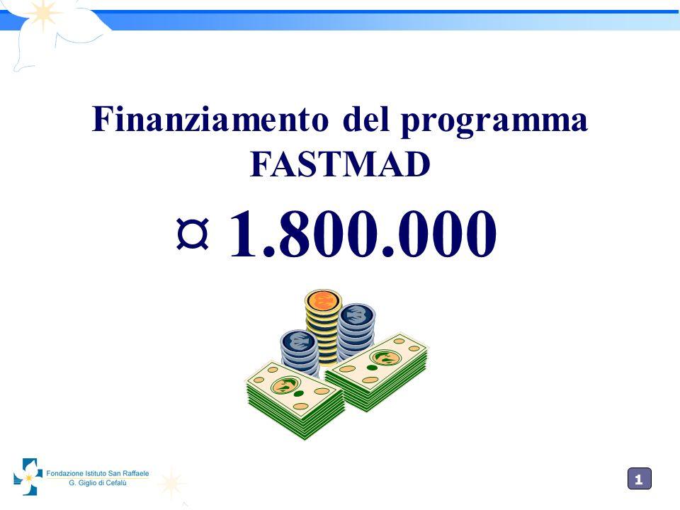 Finanziamento del programma FASTMAD