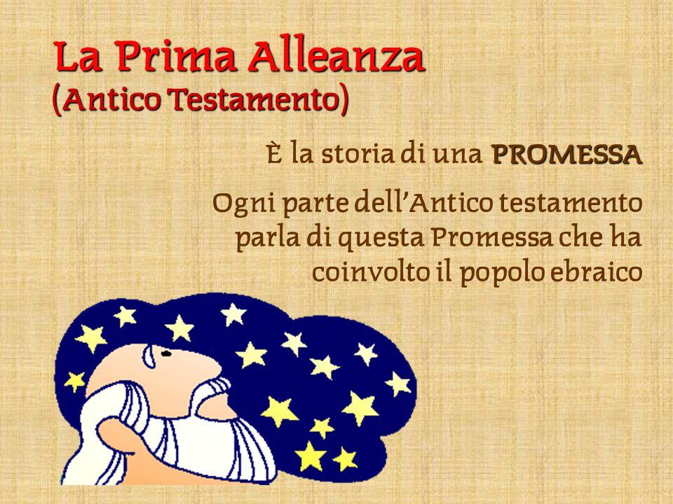 La Prima Alleanza (Antico Testamento) È la storia di una PROMESSA