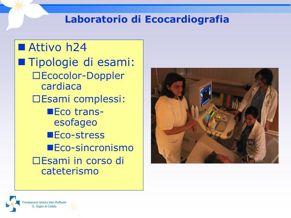 Laboratorio di Ecocardiografia