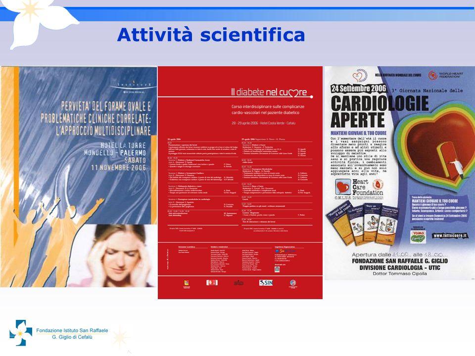 Attività scientifica