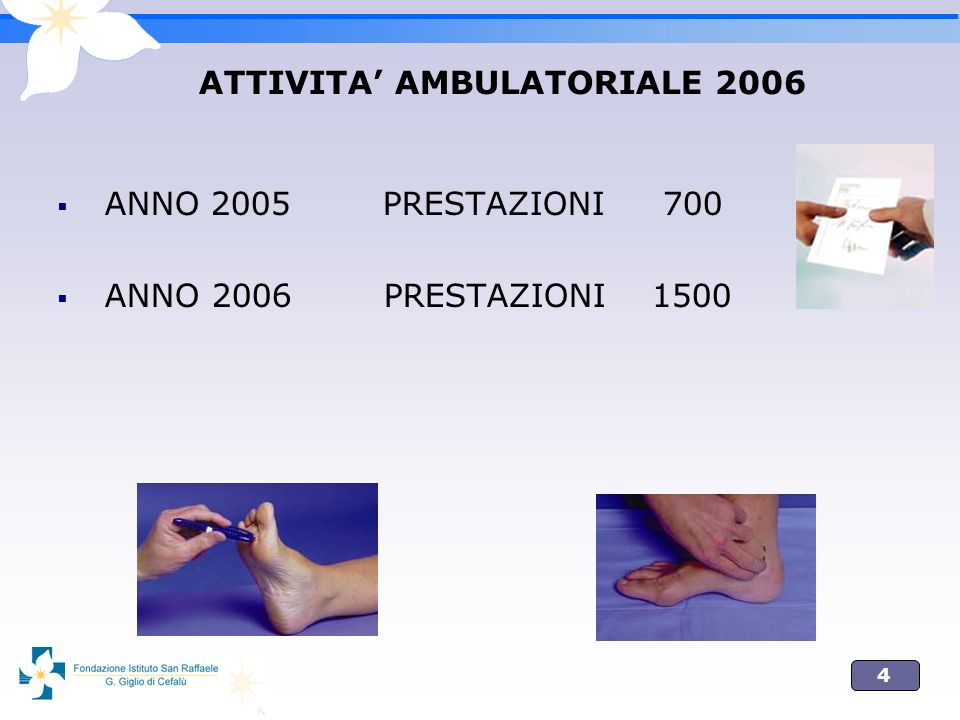 ATTIVITA' AMBULATORIALE 2006