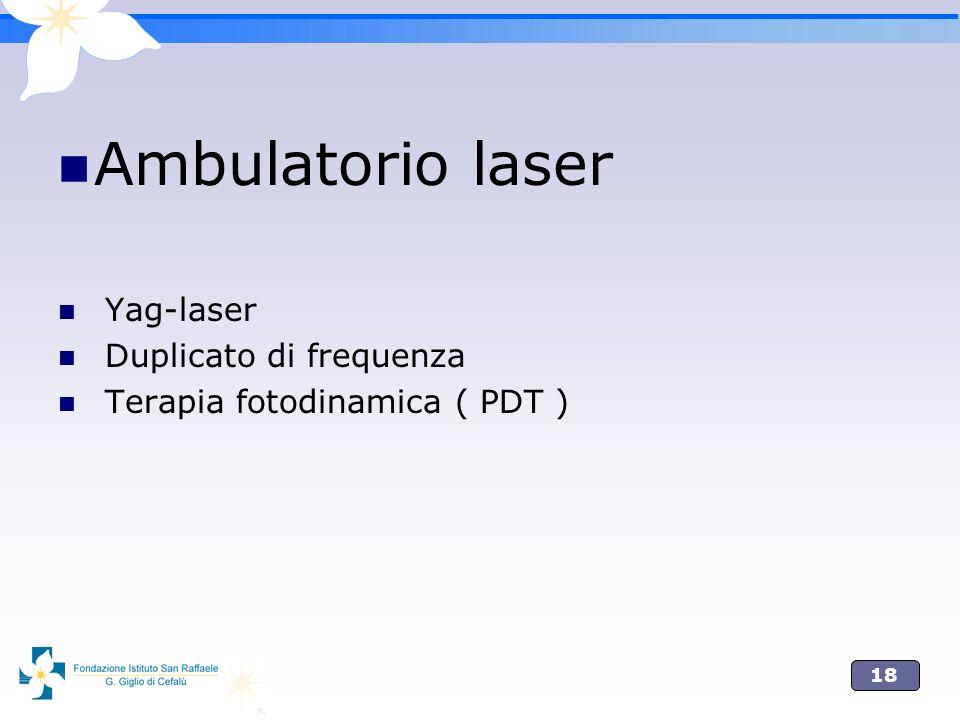 Ambulatorio laser Yag-laser Duplicato di frequenza