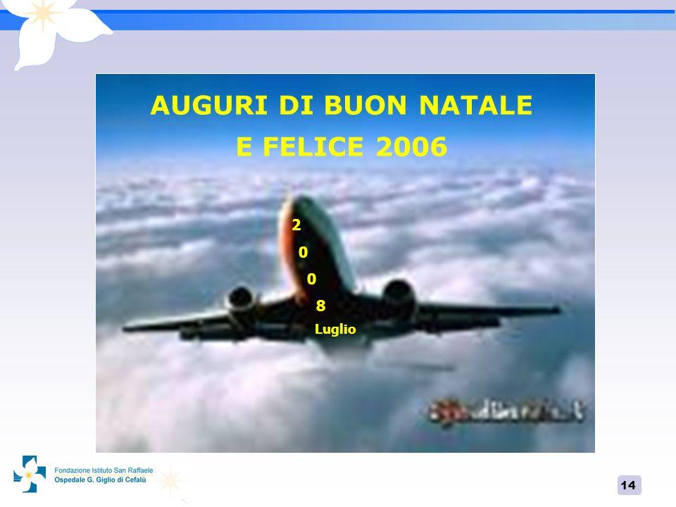 AUGURI DI BUON NATALE E FELICE 2006