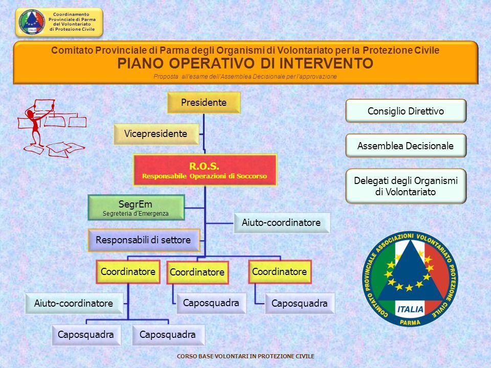 PIANO OPERATIVO DI INTERVENTO