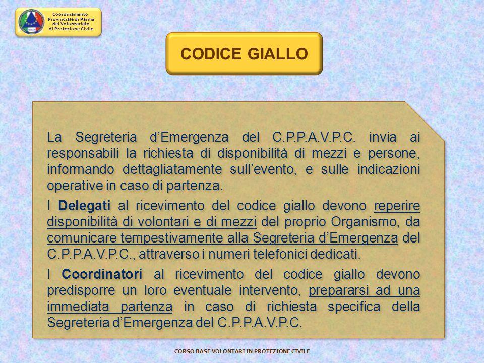 CODICE GIALLO