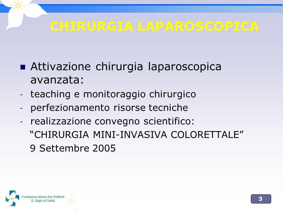 CHIRURGIA LAPAROSCOPICA