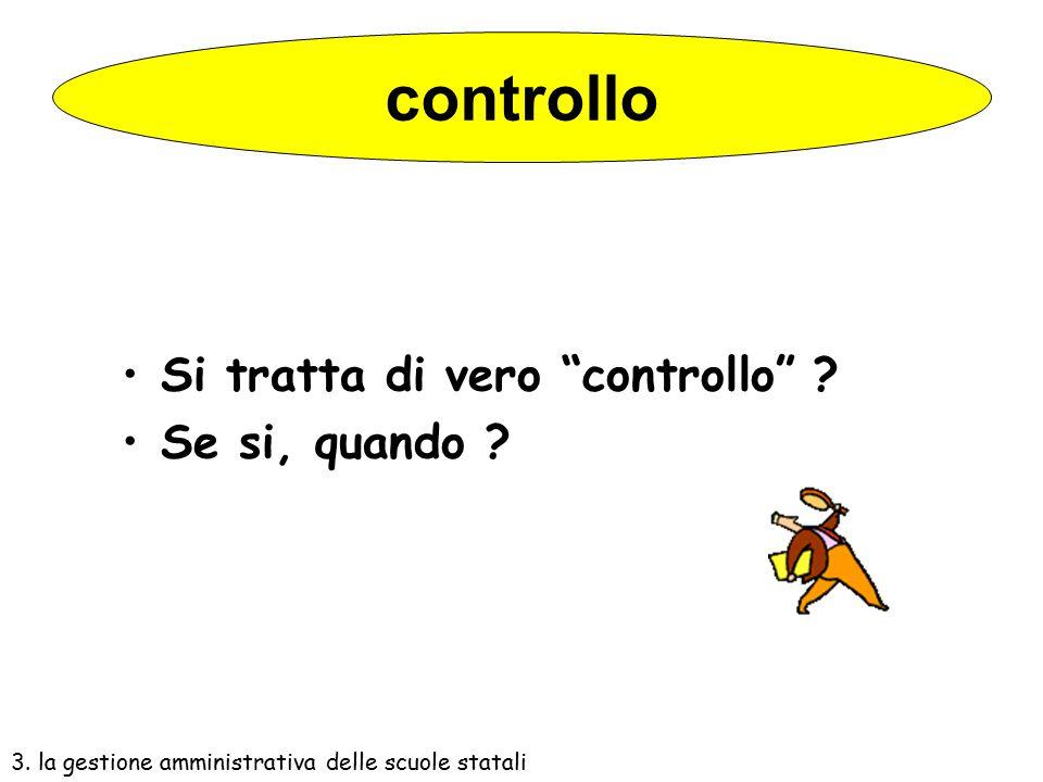 controllo Si tratta di vero controllo Se si, quando