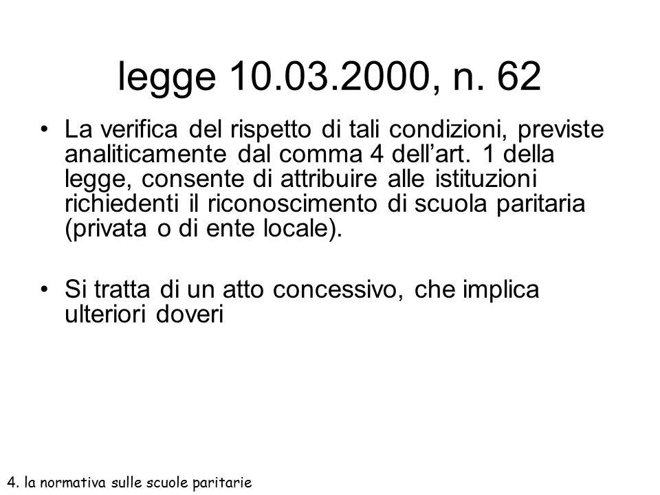 legge 10.03.2000, n. 62