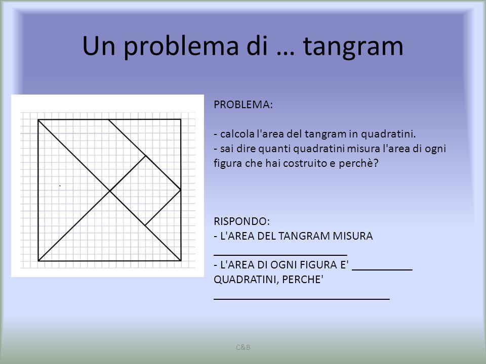 Un problema di … tangram