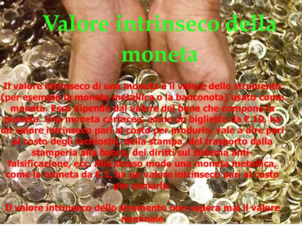 Valore intrinseco della moneta