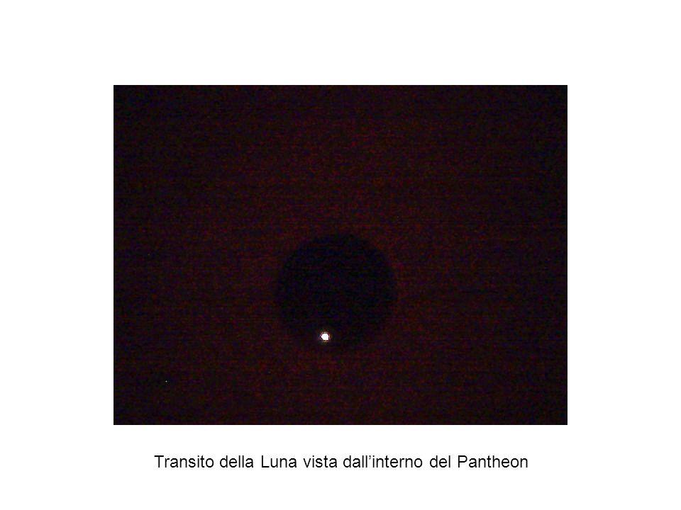 Transito della Luna vista dall'interno del Pantheon