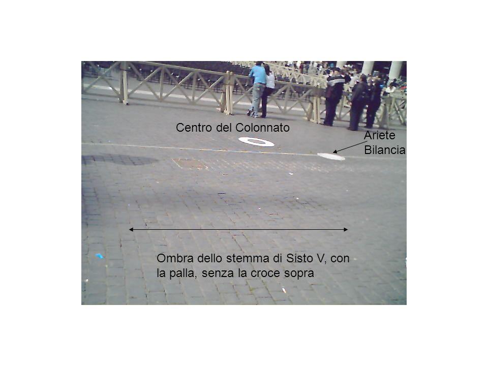 Centro del Colonnato Ariete Bilancia.