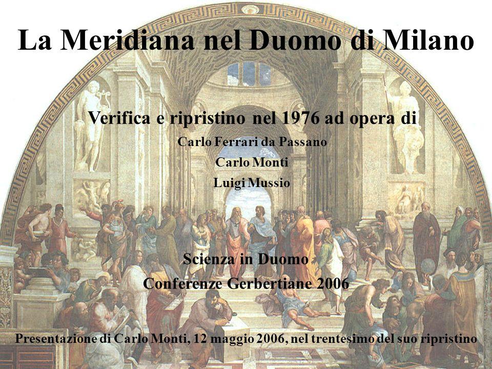 La Meridiana nel Duomo di Milano