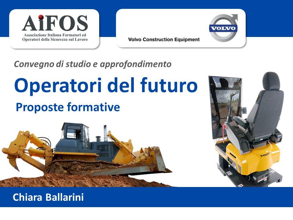 Operatori del futuro Proposte formative Chiara Ballarini
