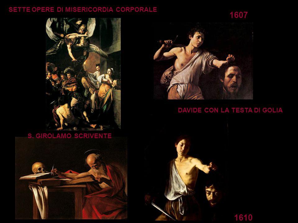 1607 1610 SETTE OPERE DI MISERICORDIA CORPORALE