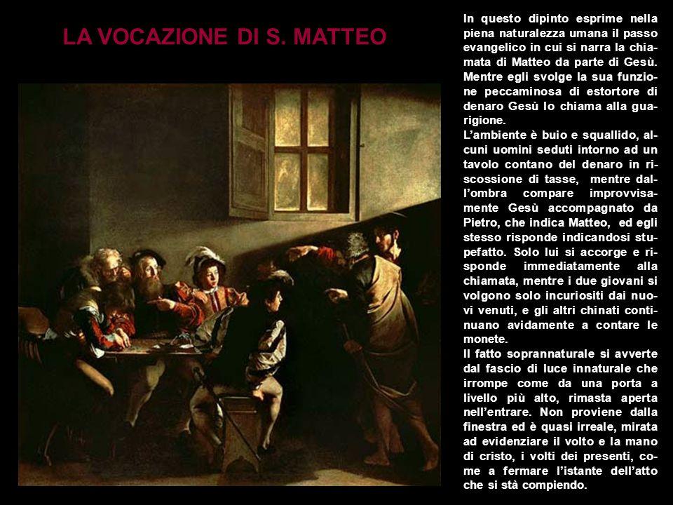 LA VOCAZIONE DI S. MATTEO
