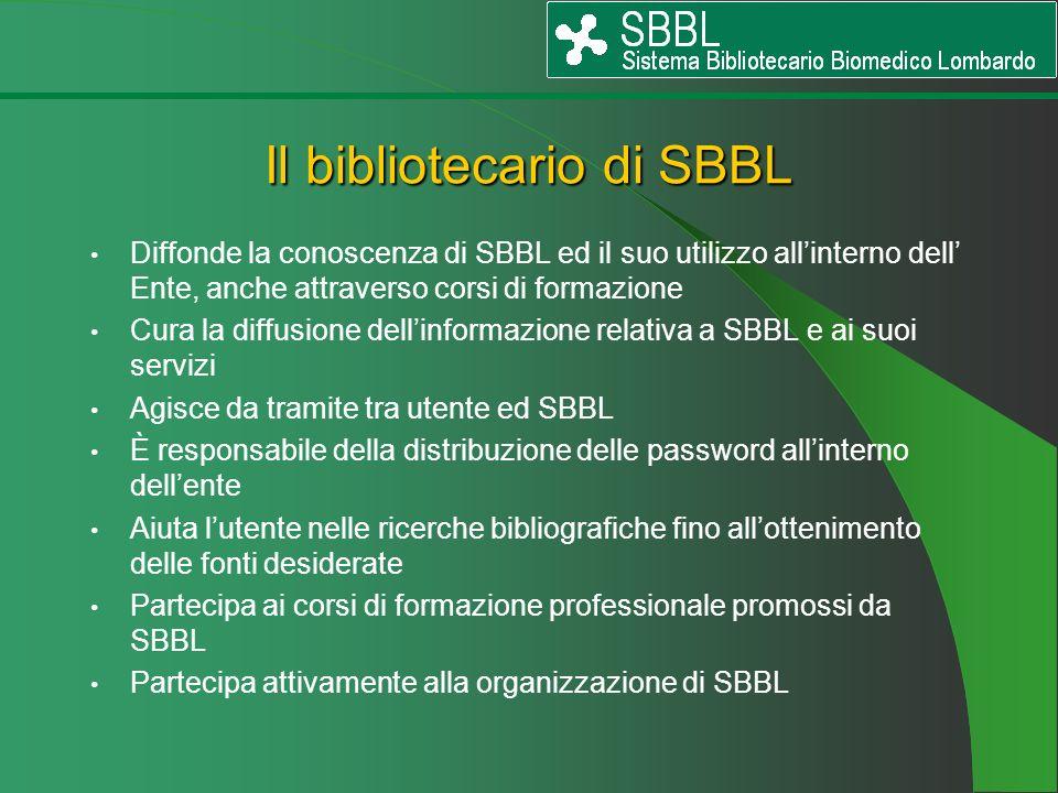 Il bibliotecario di SBBL