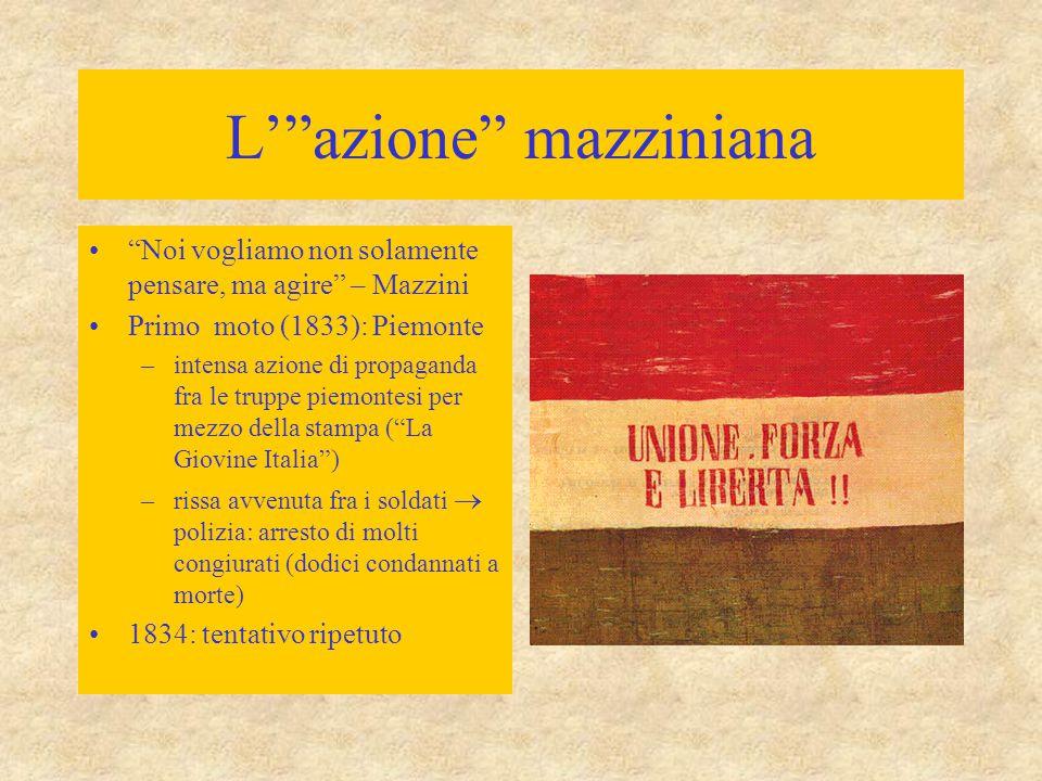 L' azione mazziniana
