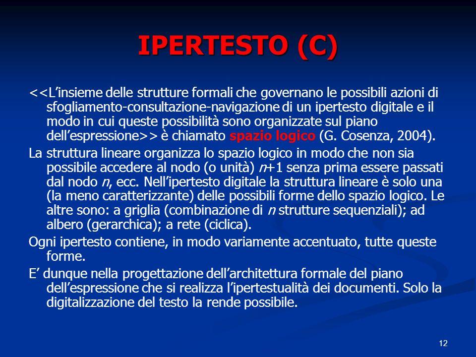 IPERTESTO (C)