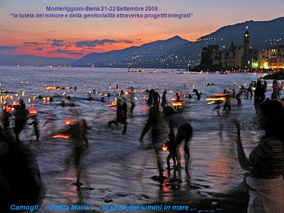 Camogli: Stella Maris … la posa dei lumini in mare ... _ _ _ ...