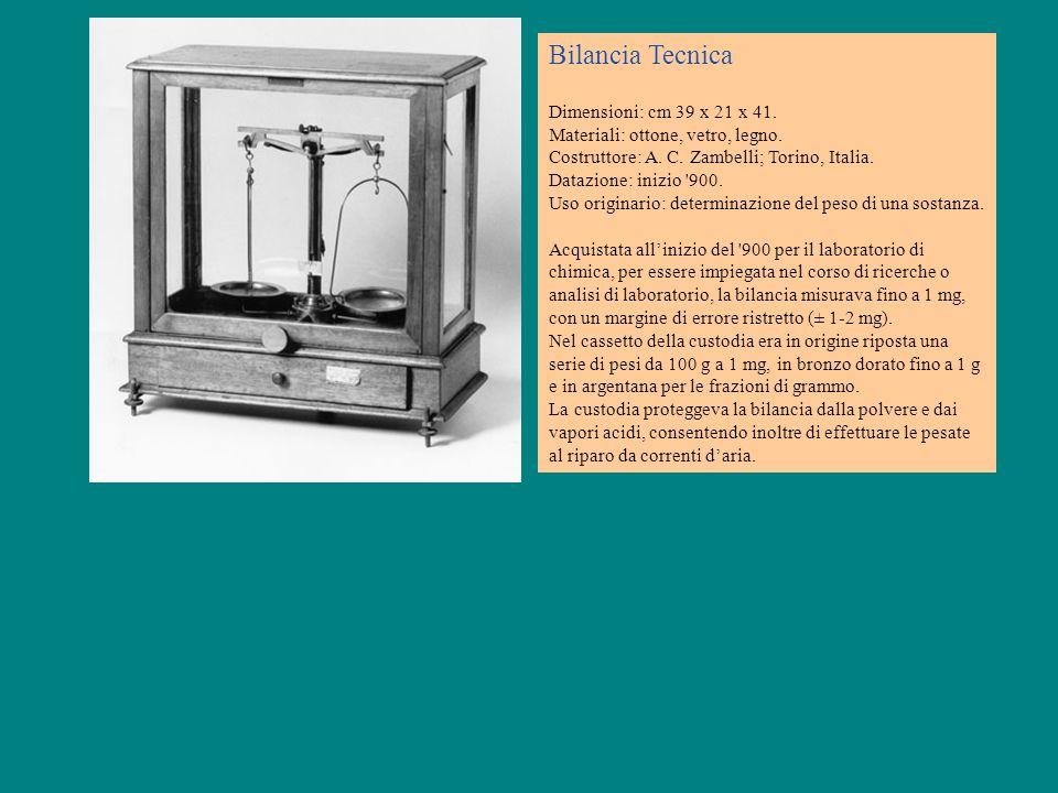 Bilancia Tecnica Dimensioni: cm 39 x 21 x 41.