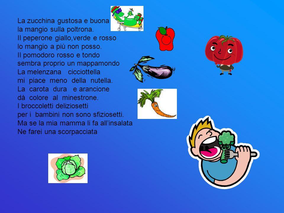 La zucchina gustosa e buona