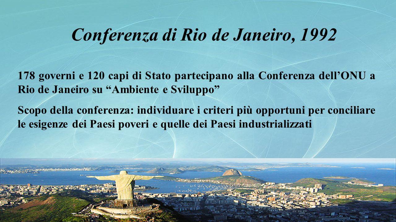 Conferenza di Rio de Janeiro, 1992