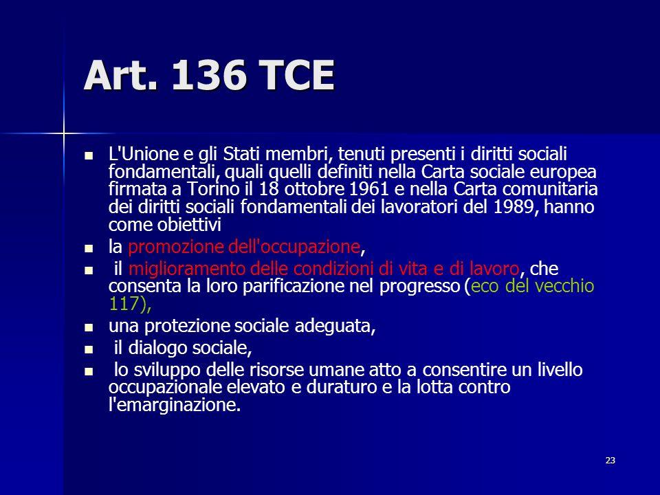 Art. 136 TCE