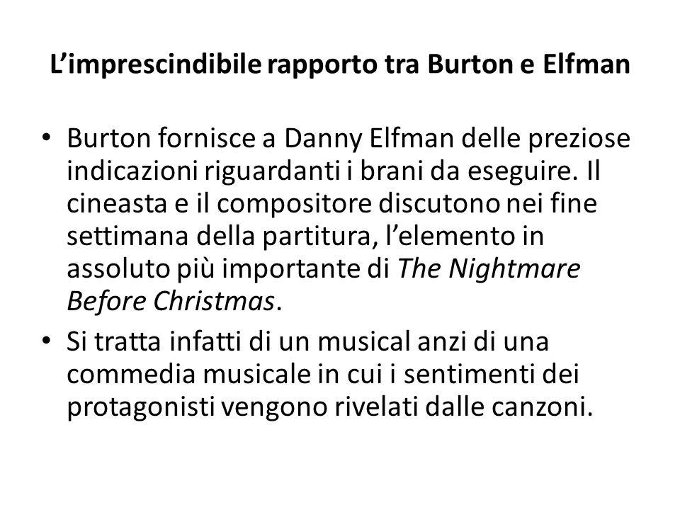 L'imprescindibile rapporto tra Burton e Elfman