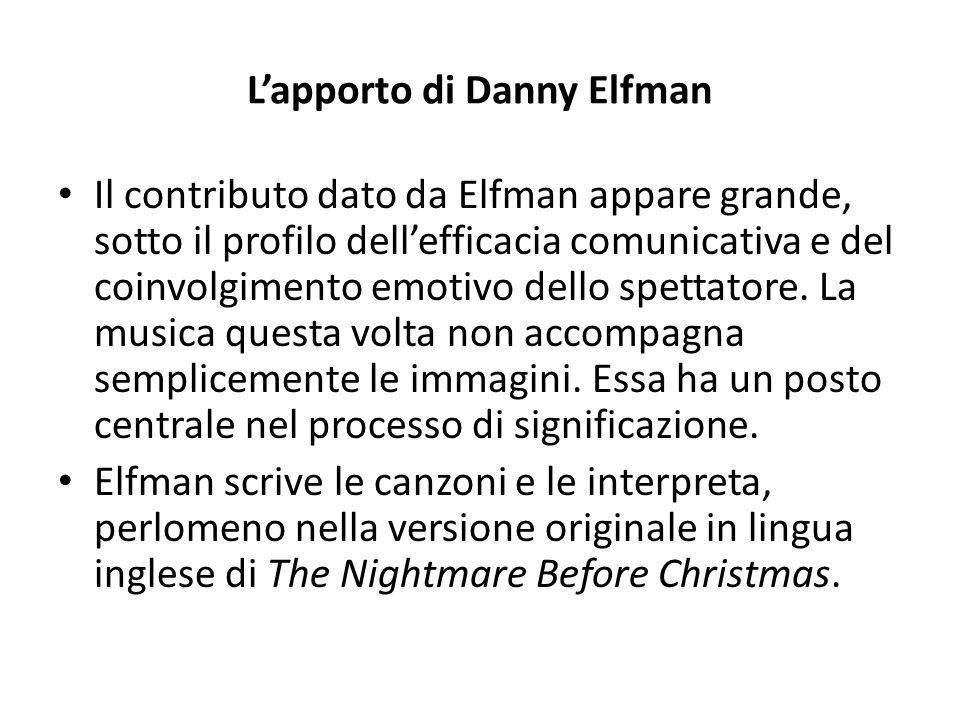 L'apporto di Danny Elfman