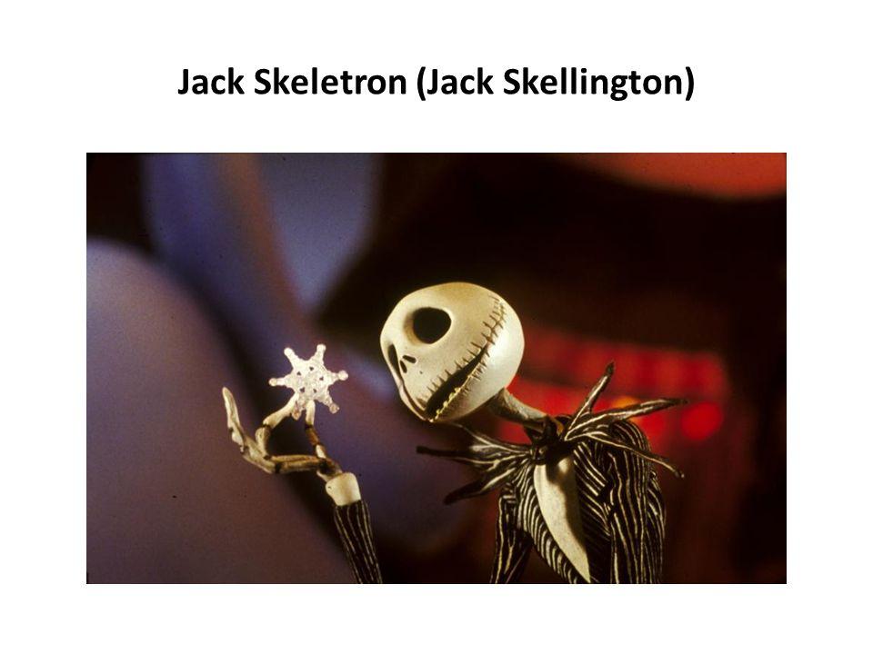 Jack Skeletron (Jack Skellington)