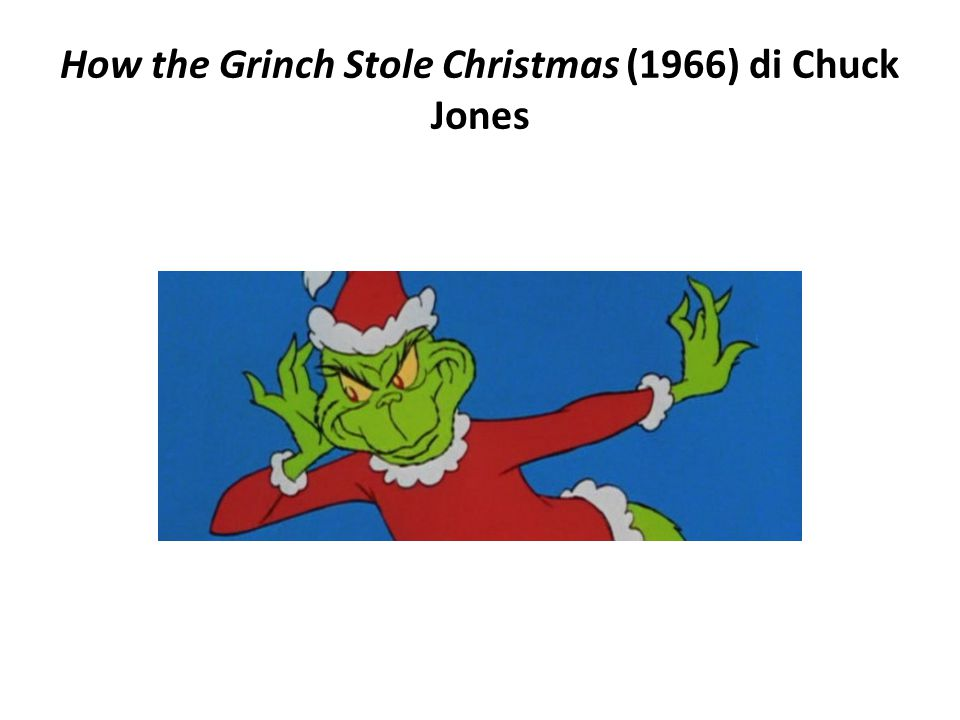 How the Grinch Stole Christmas (1966) di Chuck Jones