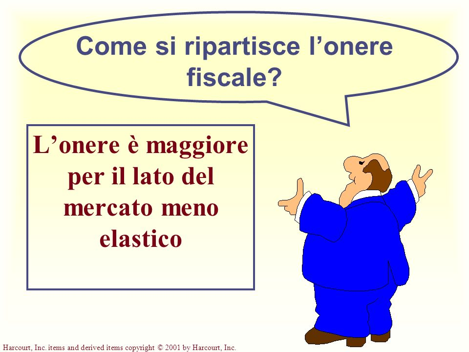 Come si ripartisce l'onere fiscale
