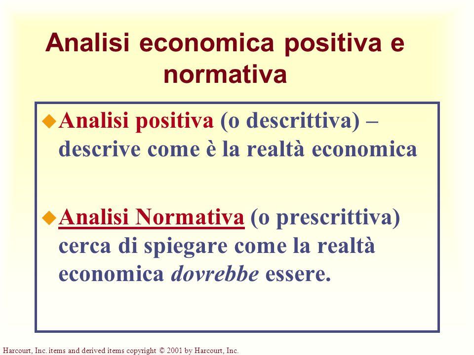 Analisi economica positiva e normativa
