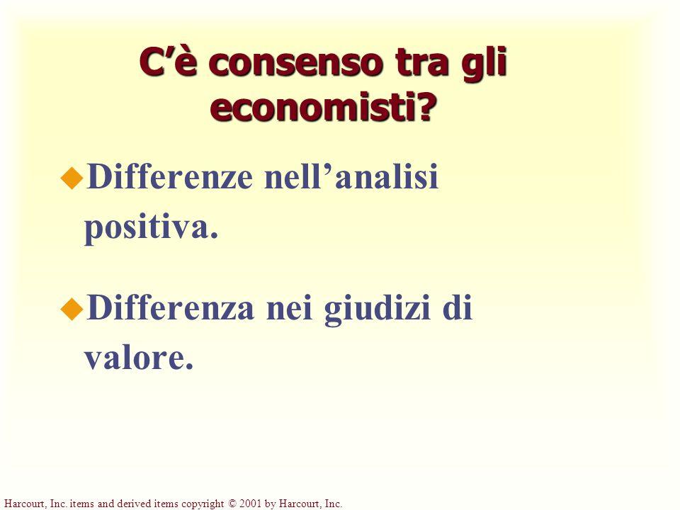 C'è consenso tra gli economisti
