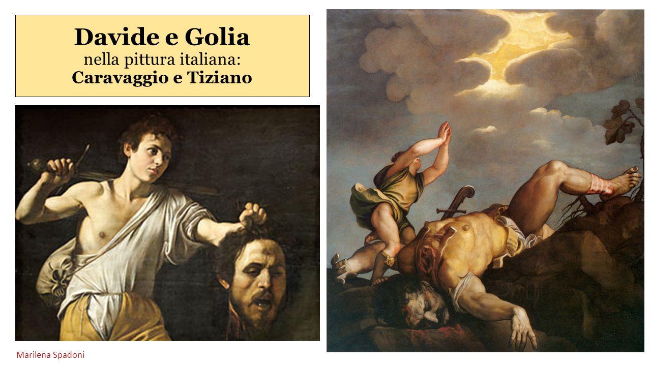 Davide e Golia nella pittura italiana: Caravaggio e Tiziano