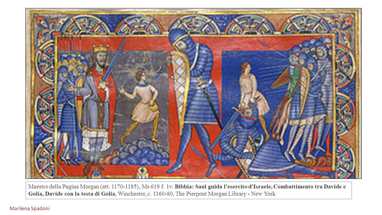 Maestro della Pagina Morgan (att. 1170-1185), Ms 619 f. 1v